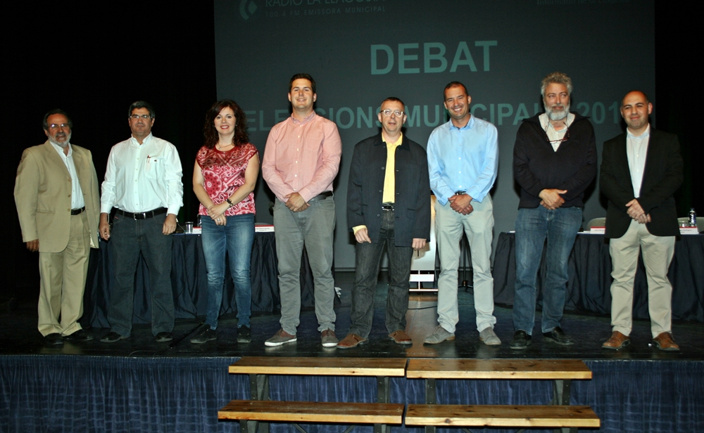 Debat electoral 2015.