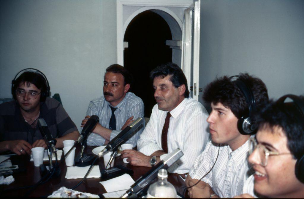 Emissió en xarxa amb Ràdio Parets i Ràdio Montornès.