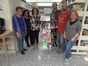 Escriptors i escriptores llagostencs, a la Biblioteca.